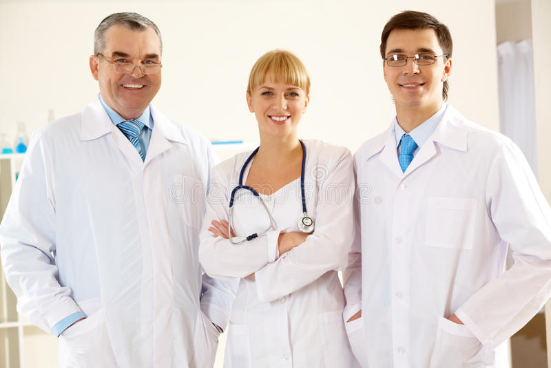 clinicians arkivfoton