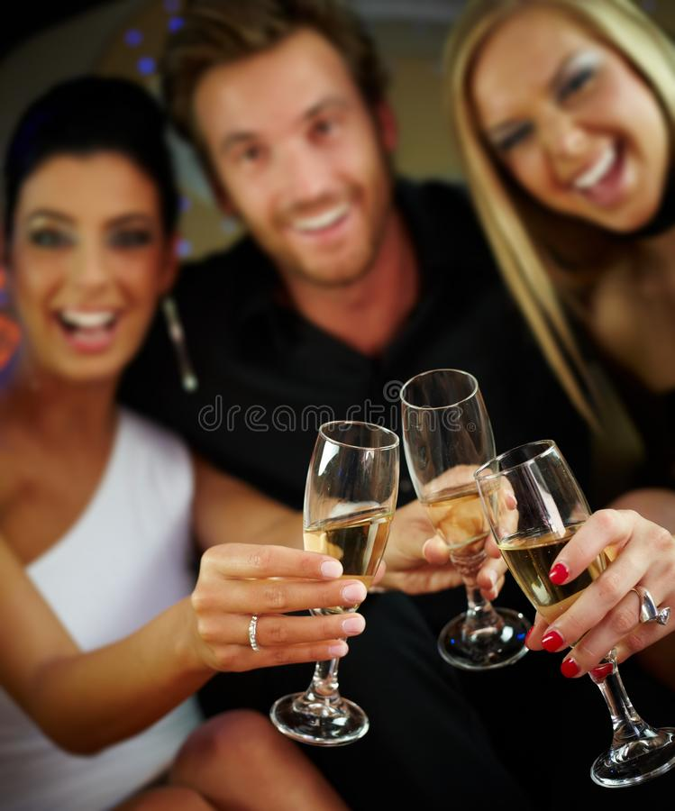Download Clinking glasses stock image. Image of fancy, cheerful - 22953693
