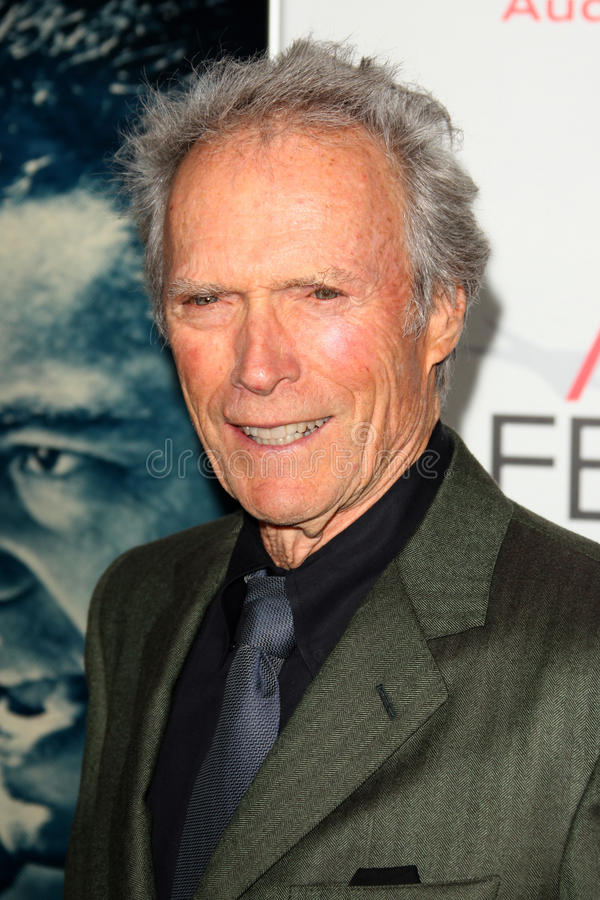 Clint Eastwood, Audy 免版税库存照片