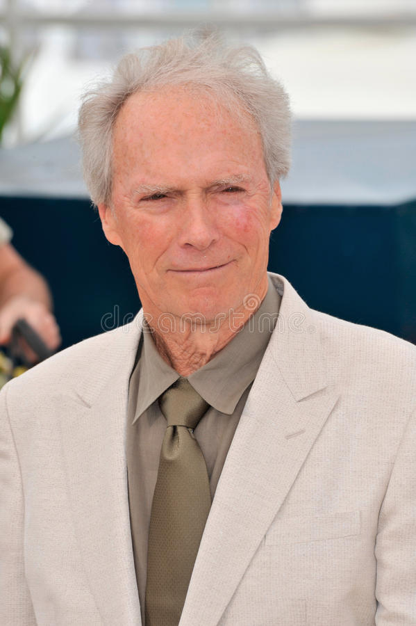 Clint Eastwood stock afbeelding