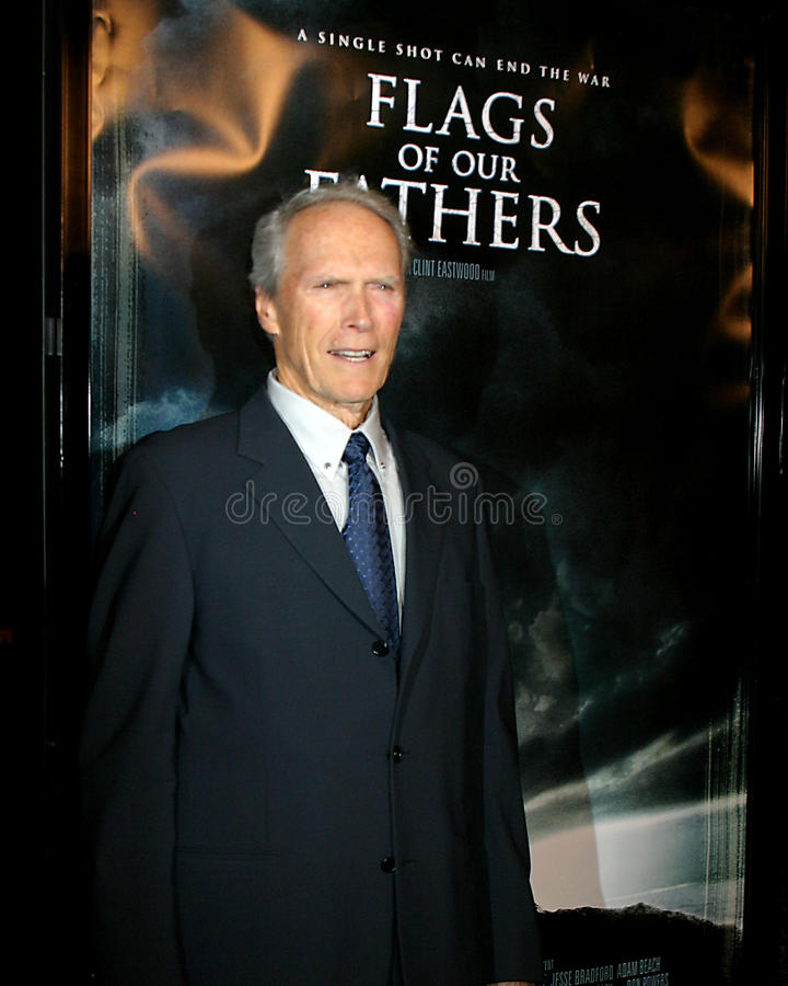 Clint Eastwood 免版税库存照片