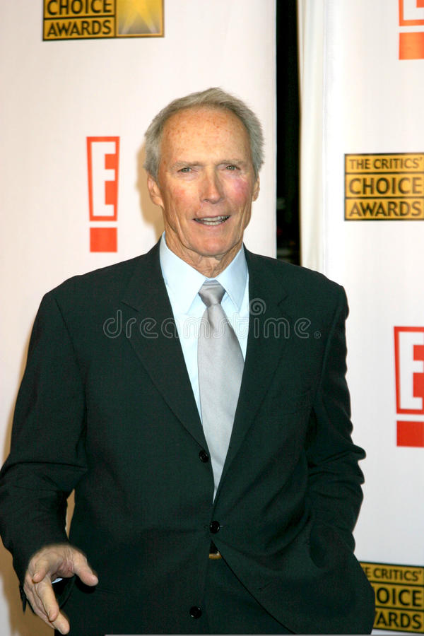 Clint Eastwood royaltyfri bild