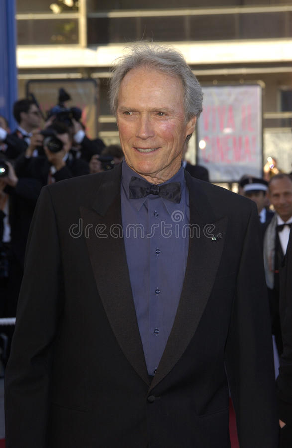Clint Eastwood 免版税库存图片