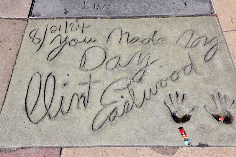 Clint Eastwood image libre de droits