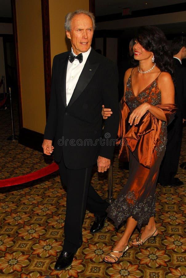 Clint Eastwood, Dina Eastwood στοκ φωτογραφίες με δικαίωμα ελεύθερης χρήσης
