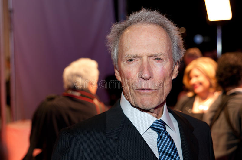 clinteastwood royaltyfria bilder