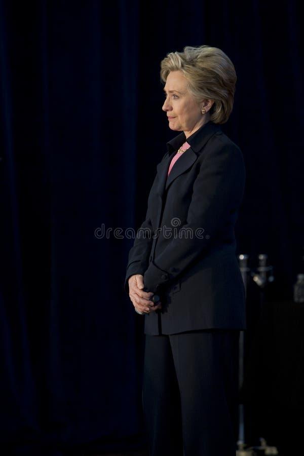 clinton wiec Hillary obrazy royalty free