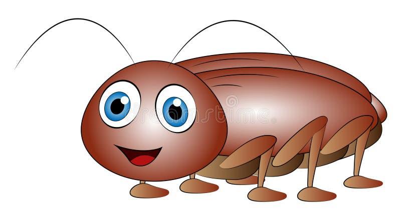 Clip art de la cucaracha de la historieta libre illustration