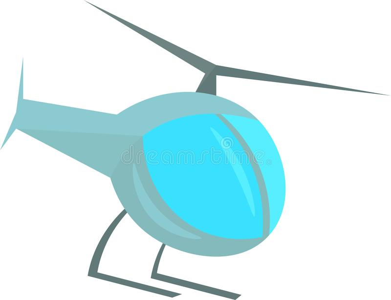 Clip Art Design di vettore dell'elicottero royalty illustrazione gratis