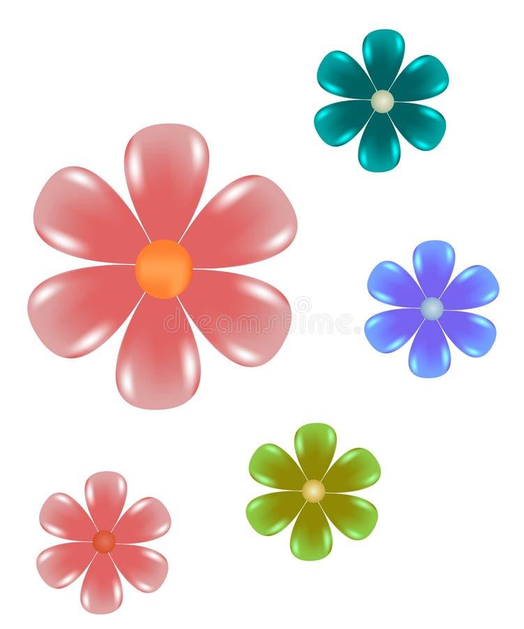Clip-art floral illustration de vecteur