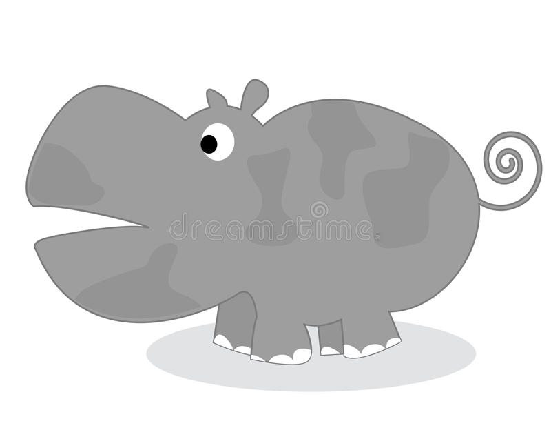 Download Clip art hippo stock vector. Image of wildlife, mammal - 20913060