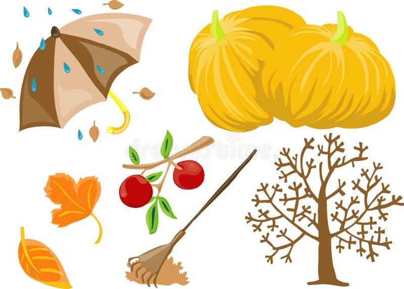 Clip-arte di autunno illustrazione vettoriale