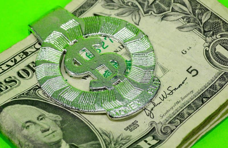 Clip d'argent photographie stock libre de droits