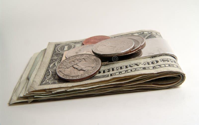 Clip dei soldi fotografia stock libera da diritti