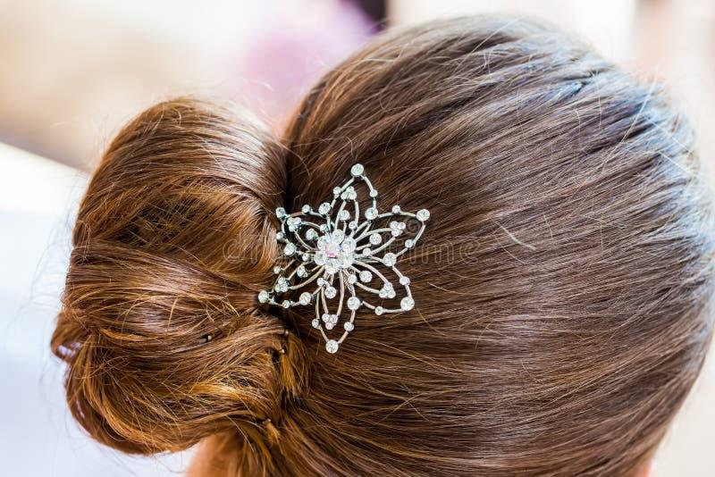 Clip di capelli fotografia stock libera da diritti