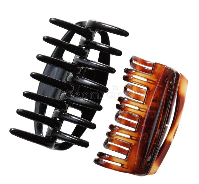 Clip di capelli fotografia stock