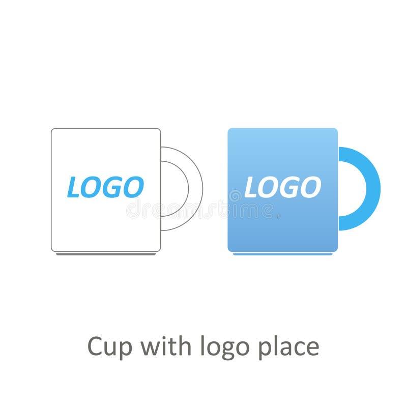Clipart вектора чашки стоковая фотография
