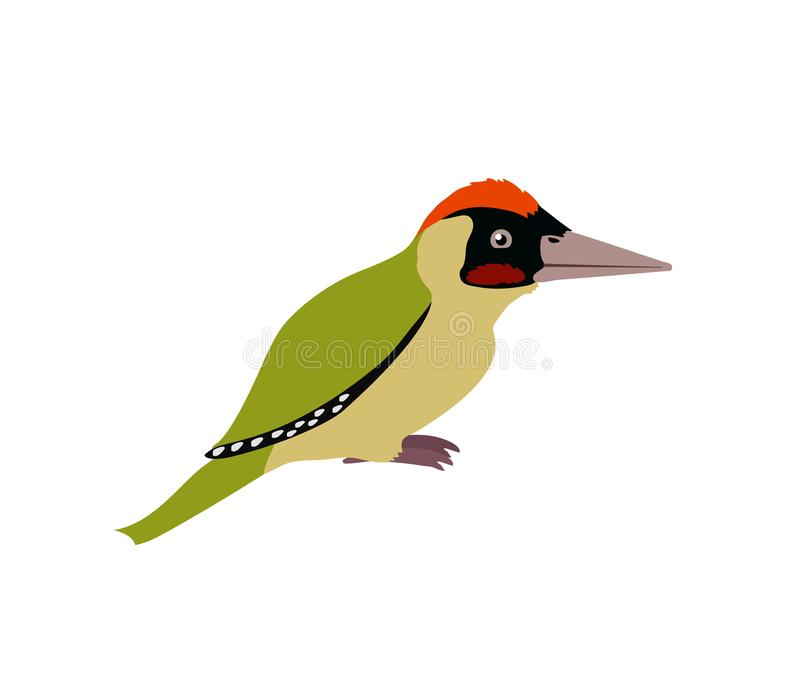 Clipart animale del fumetto piano di vettore illustrazione vettoriale