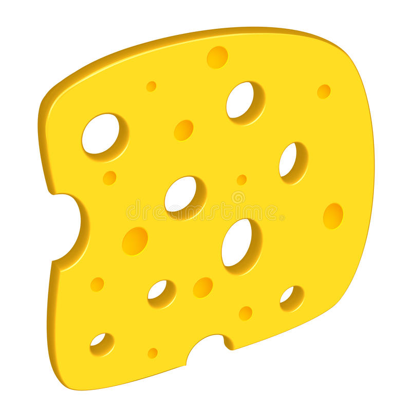 Clipart de fromage illustration stock