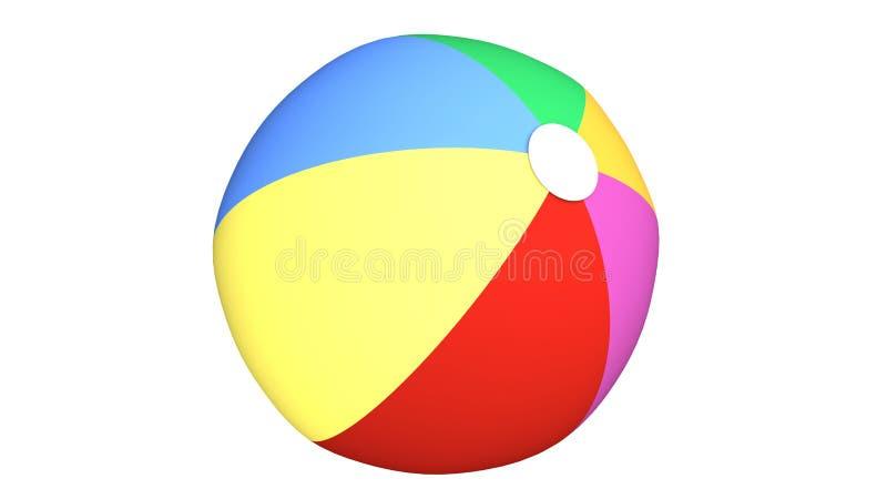 Clipart de la pelota de playa libre illustration