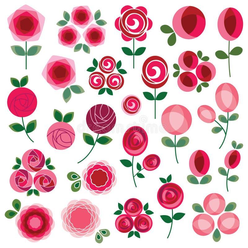 Clipart de Rose illustration libre de droits