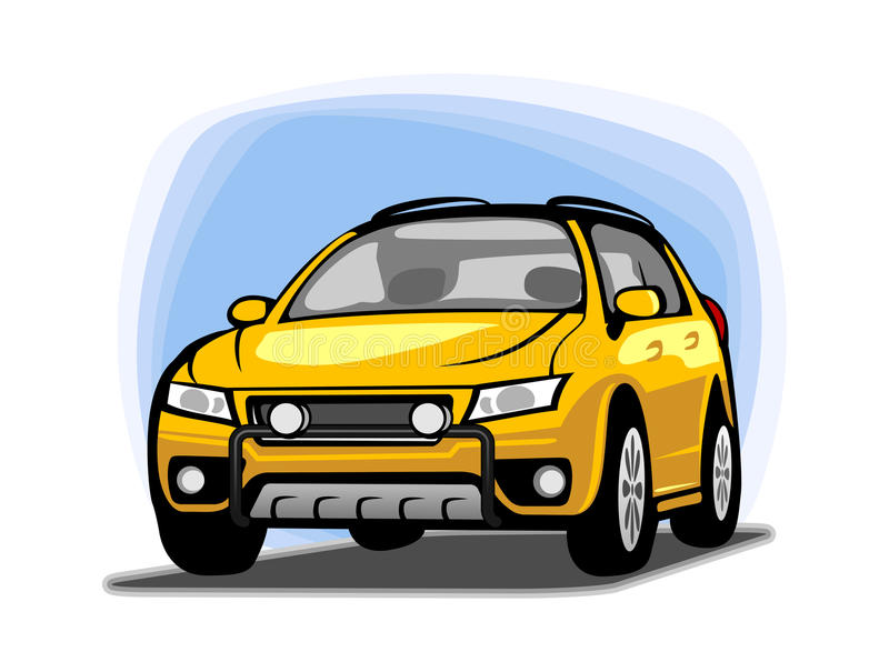 Clipart de voiture illustration stock
