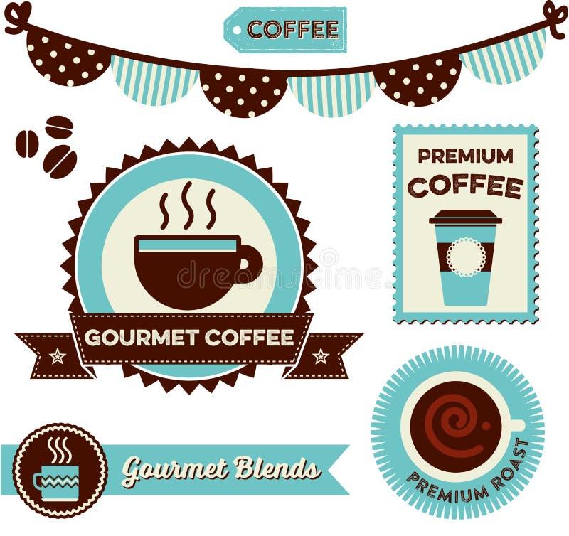 Clipart del caffè illustrazione di stock