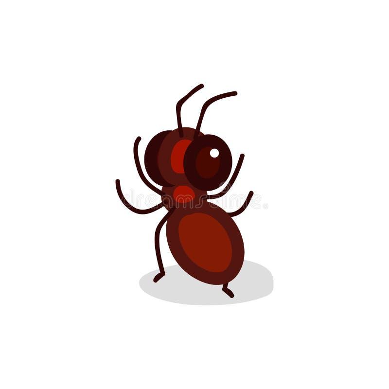 Clipart dell'insetto del fumetto di vettore illustrazione vettoriale