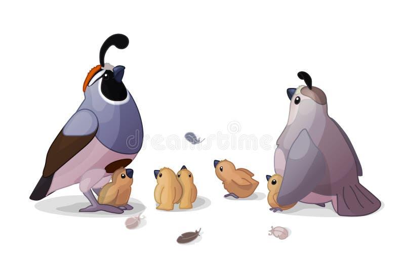 Clipart do animal dos desenhos animados do vetor ilustração royalty free