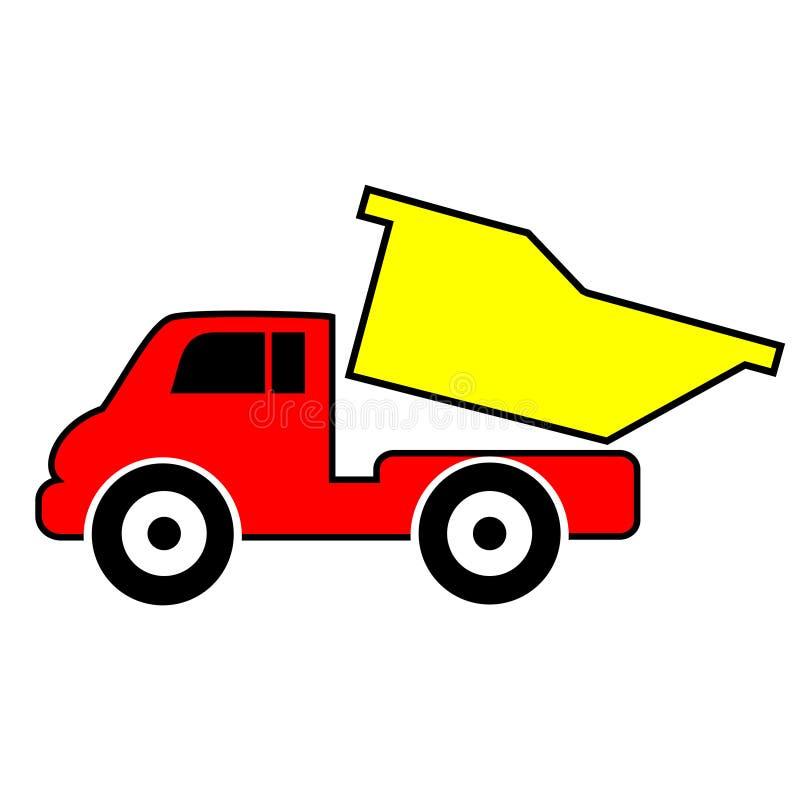 Clipart do caminhão de Toy Dump ilustração royalty free