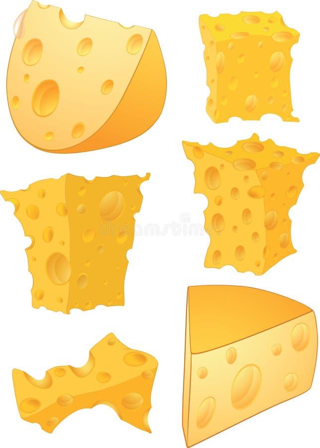 Clipart (images graphiques) de fromage illustration stock