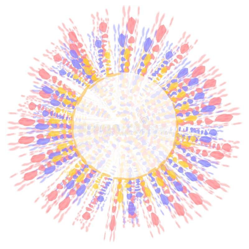 Clipart (images graphiques) teint par relation étroite de logo de cercle illustration stock