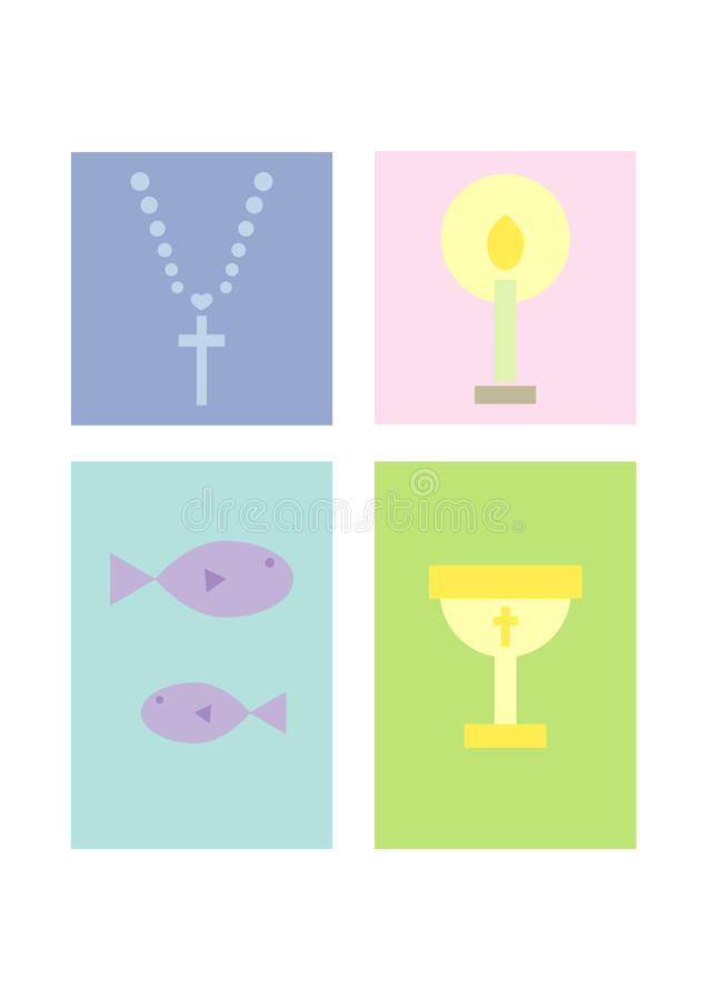 Download Clipart Set: Religion / Christianity Stock Vector - Image: 13193801