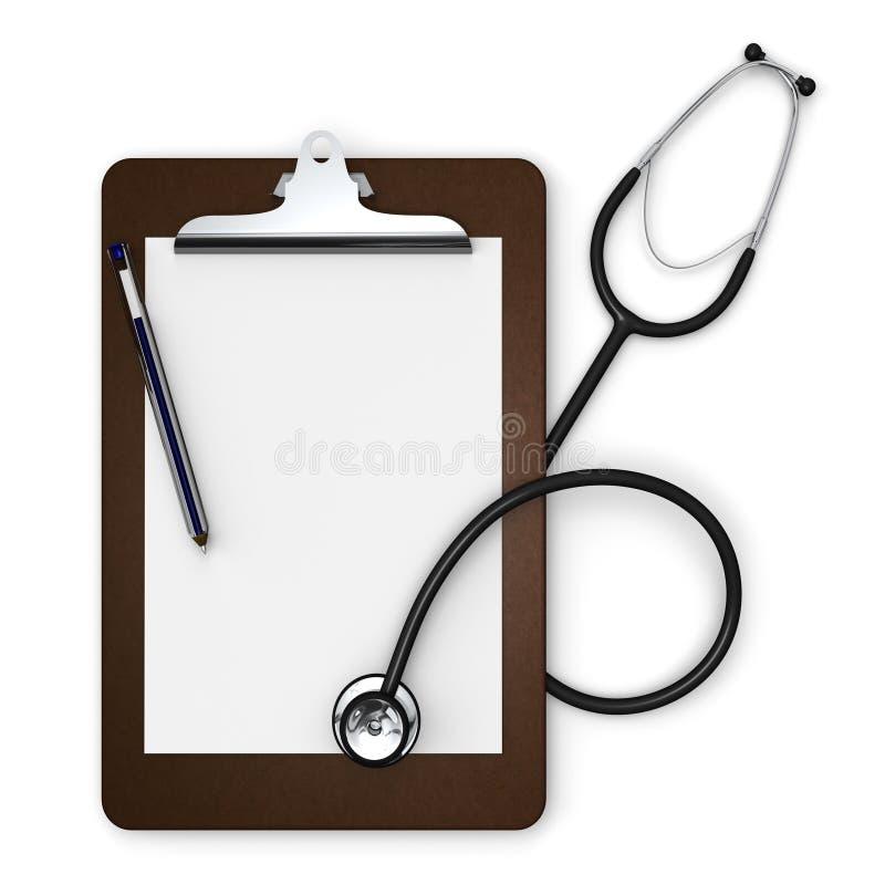 Clipboard доктора бесплатная иллюстрация