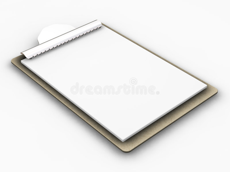 Download Clipboard stock photo. Image of paper, inventory, blank - 1005934