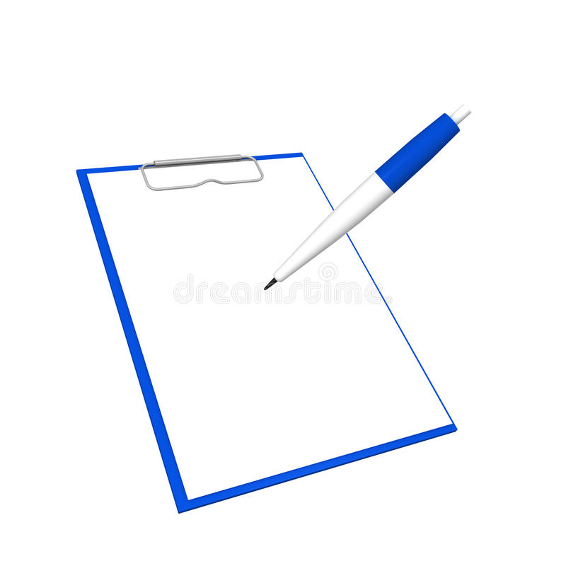 Clipboard stock image