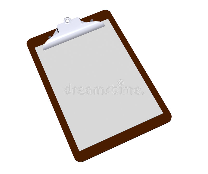 Clipboard Royalty Free Stock Photo