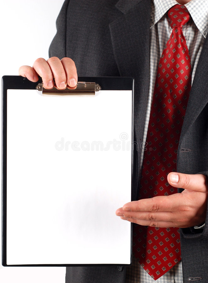 Clipboard #7 royalty free stock images