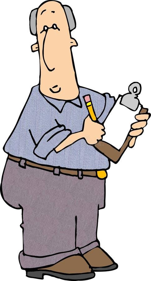 Download Clipboard Man 2 stock illustration. Illustration of vocation - 36585