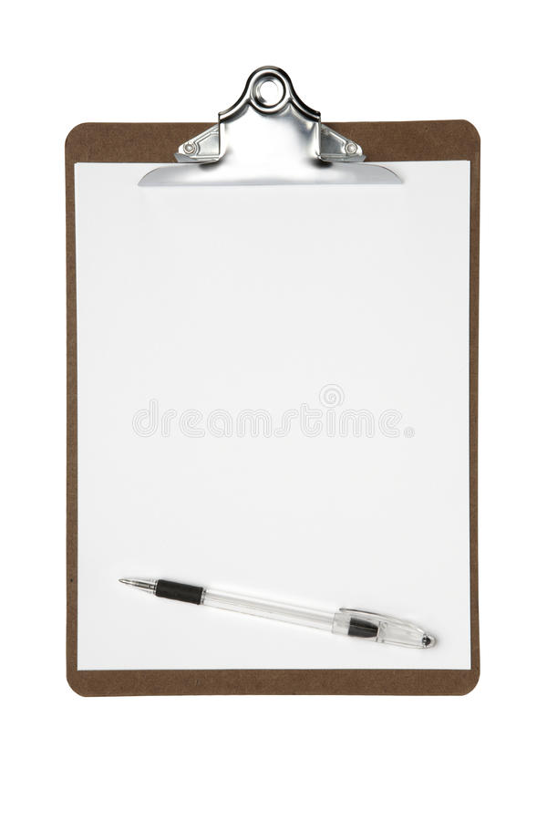 Download Clipboard with pen stock photo. Image of clip, surface - 11629610