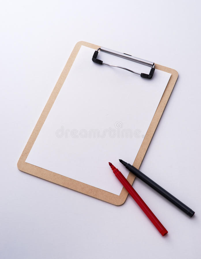 Download Clipboard and pen stock image. Image of clip, document - 23948355