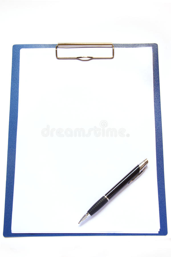 Download Clipboard and pen stock photo. Image of idea, object - 30871108