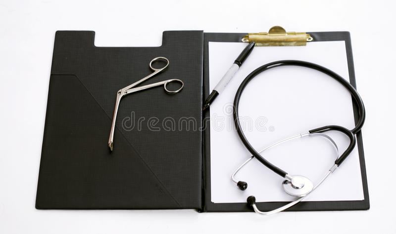 Download Clipboard With Stethoscope And Medical Tool Stock Image - Image: 11320703