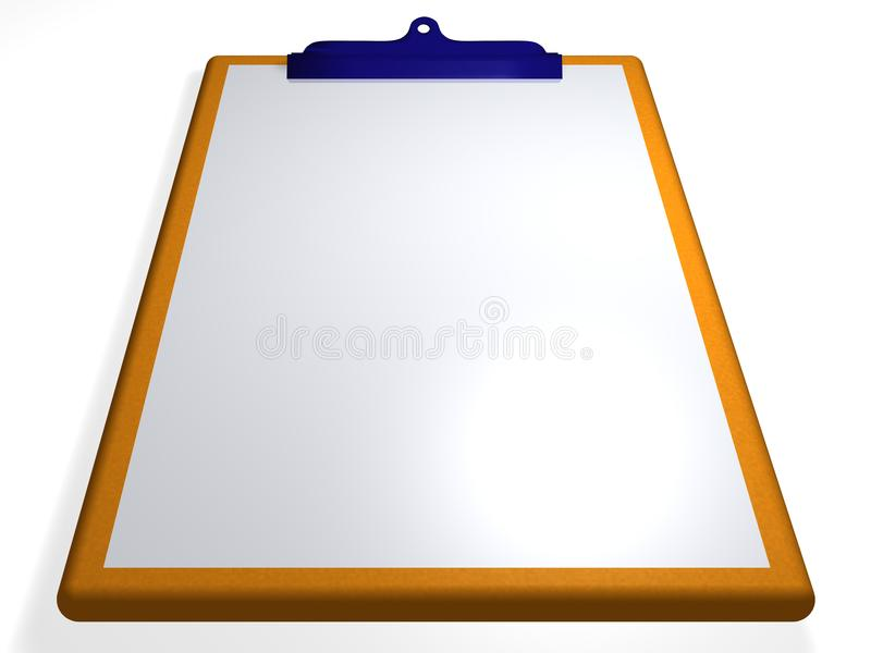 Download Clipboard - textbox - 3D stock illustration. Illustration of optional - 13807016