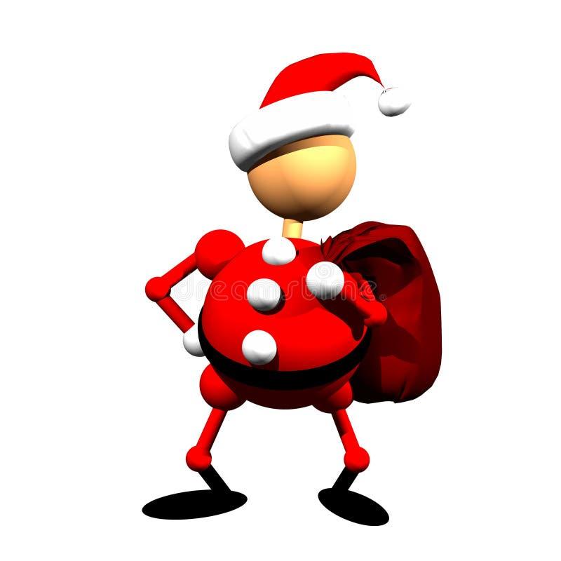 Clippart de Papá Noel imágenes de archivo libres de regalías