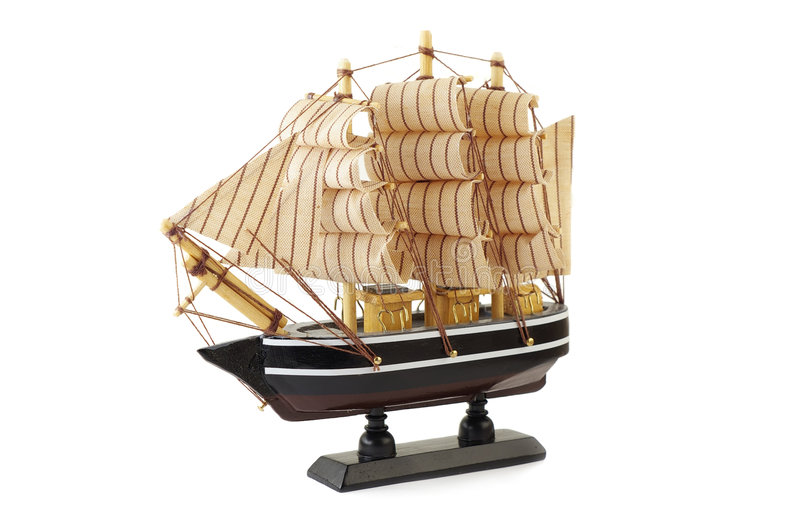 Clipper Schip royalty-vrije stock afbeelding
