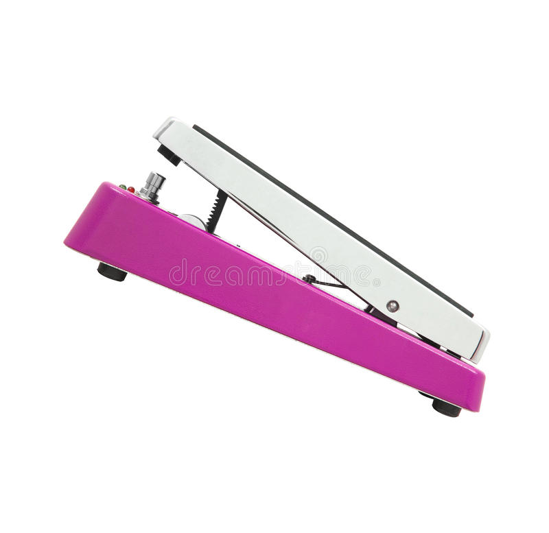 Clipping path of the drum pedal royalty free stock images