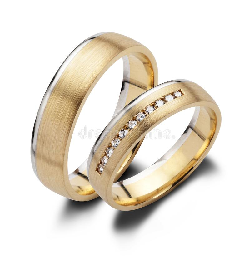 clippingmappen inkluderar isolerat gifta sig för parbanacirklar royaltyfria foton