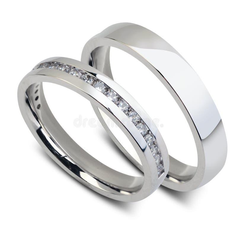 clippingmappen inkluderar isolerat gifta sig för parbanacirklar arkivfoton
