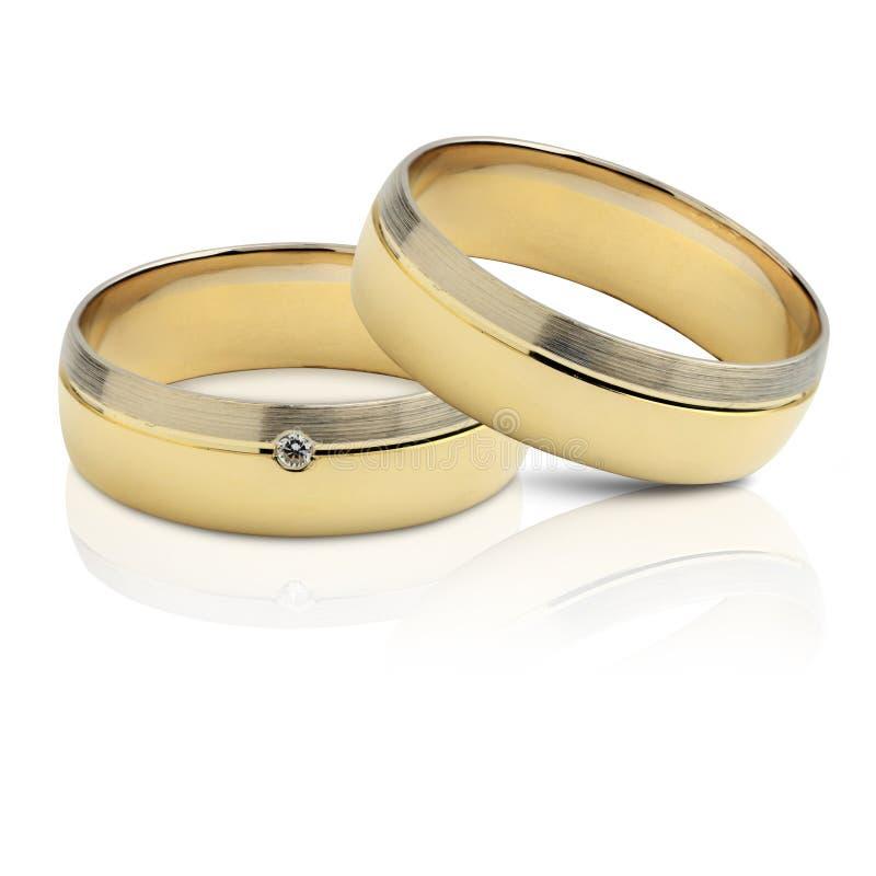 clippingmappen inkluderar isolerat gifta sig för parbanacirklar royaltyfri bild